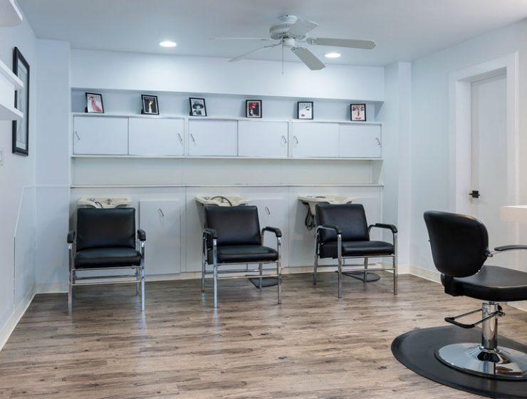 Enjoy a luxurious shampoo, scalp massage and professional blowout with styling